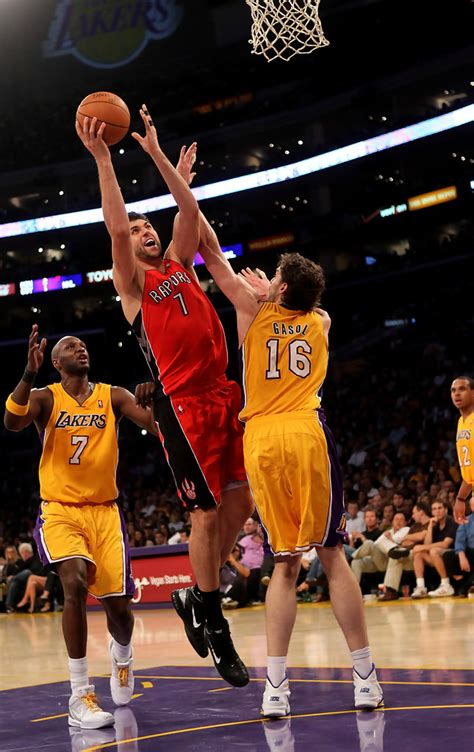Los Angeles Lakers Vs. Toronto Raptors