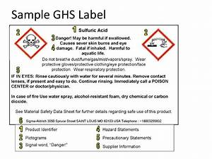 hazcom training osha 2013 requirement With ghs requirements