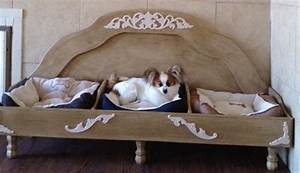 Custom made raised dog bed for 3 dogs by thh creations for Dog bed for 3 dogs