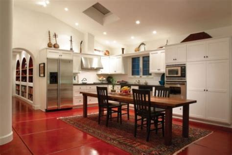 kitchen island instead of table decorar con instrumentos musicales