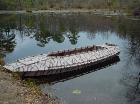Wooden Duck Hunting Boat Plans by Duckhunter Wooden Boat Plans