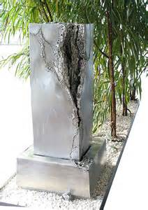 designer zimmerbrunnen zimmerbrunnen unikate vom metall künstler kaufen gahr