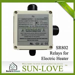 110v Sr802 Solar Controller Relays For High Power Electric