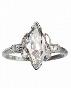 marquise cut diamond engagement rings martha stewart With wedding rings marquise cut