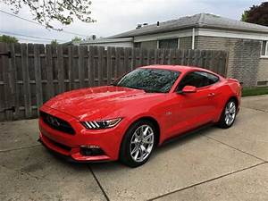 6th gen red 2015 Ford Mustang GT automatic low miles [SOLD] - MustangCarPlace