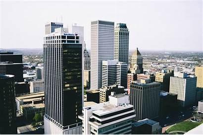 Tulsa Oklahoma Cityscape Towers Usa