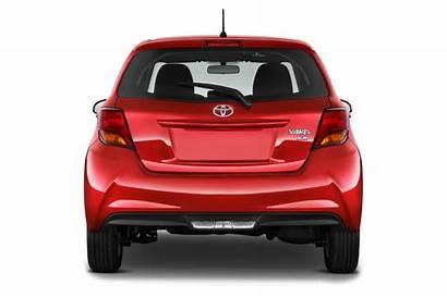Yaris Toyota Rear Hatchback Motortrend Cars Door