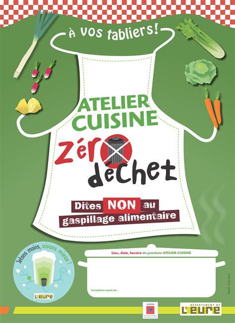 affiche atelier cuisine l 39 eure en ligne