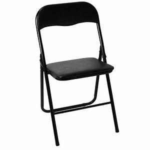 Chaise Pliante Noire : chaise pliante cpliante twitter ~ Teatrodelosmanantiales.com Idées de Décoration