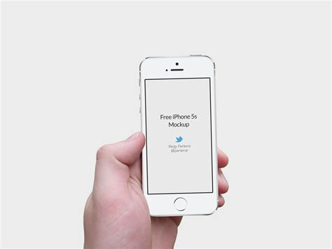 Iphone Mockup Iphone 5 Png Free Iphone 5s Mockup Graphic