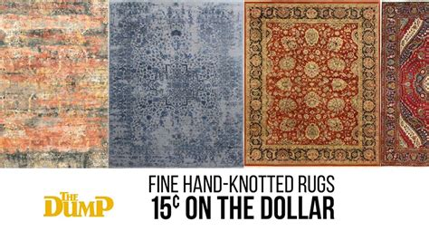 the dump rugs the dump rug outlet knotted rugs at 15 162 on the