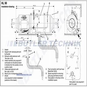 Webasto Hl90 Heater 24v 9 0kw Air Heater