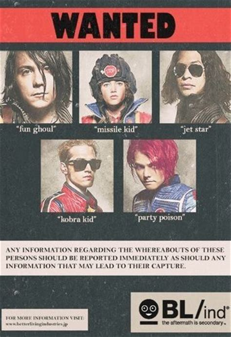 ideas  killjoys  pinterest black parade
