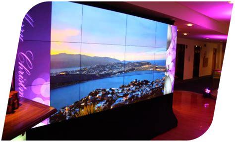 multiple display panels video walls vidcom nz