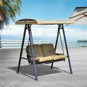 Fauteuil Deux Places : balancelle de jardin 22 exemples avec des ailes ~ Teatrodelosmanantiales.com Idées de Décoration