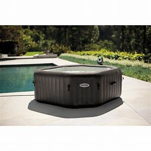 spa gonflable intex octo bulles octogonale 4 places With rechauffeur piscine intex leroy merlin 6 spa gonflable piscine et spa leroy merlin