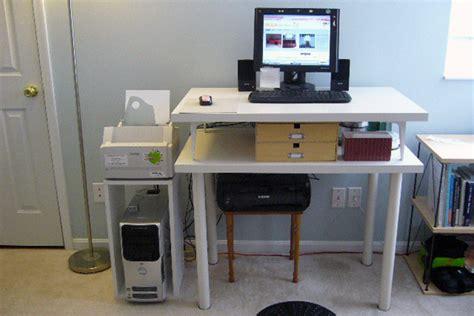 Lifehacker Standing Desk Ikea by The Best Ikea Standing Desk Hacks Lifehacker Australia