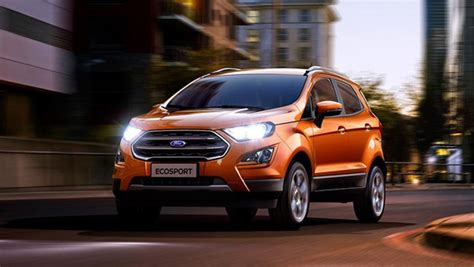ford ecosport recalled   usa  units built