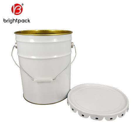 Download a psd mockup template which showcase a simple 20l tin paint bucket that you can easily edit and customize to your liking. Custom 20L Paint Tin Pail Manufacturers, Suppliers ...