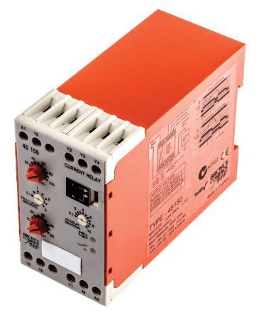 Vac Broyce Control Current Monitoring Relay