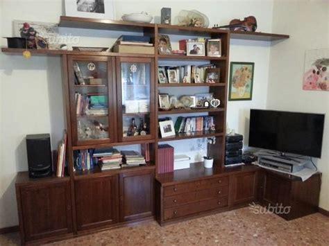 Libreria Legno Massiccio by Libreria In Legno Massiccio Bifacciale Arredo Posot Class