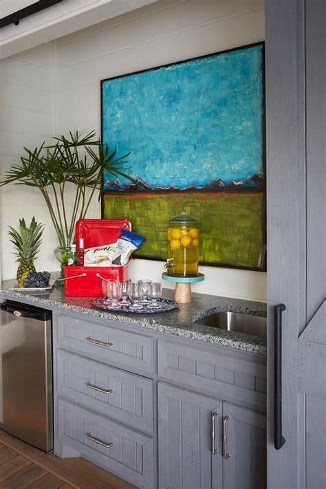 wet bar mini fridge design ideas