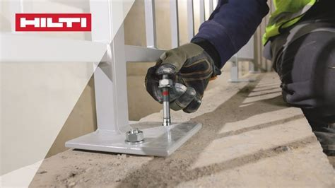 COMPARISON of Hilti's HST 3 expansion anchor with other