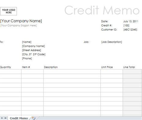 credit memo template credit note template excel calendar template excel