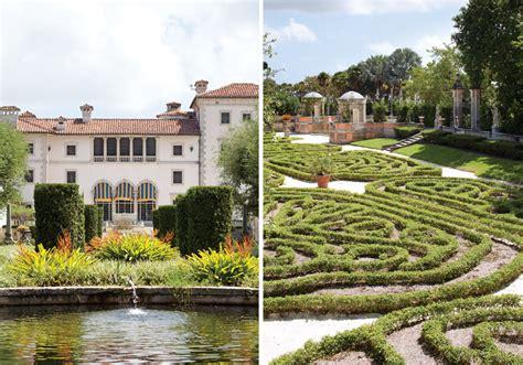 Gardens In Miami by The Splendor Of Vizcaya In Miami Florida Magazine
