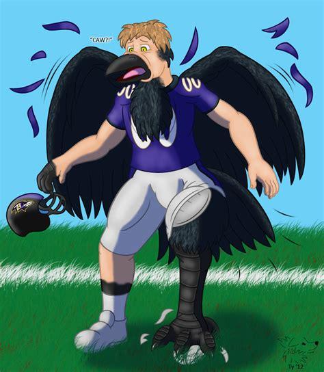 Baltimore Raven By Banana Of Doom2000 On Deviantart