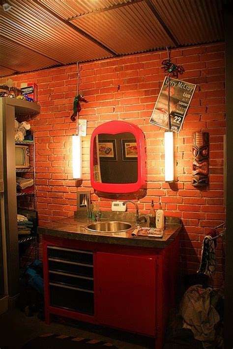 cave bathroom decorating ideas a real man s bathroom house stuff pinterest men cave