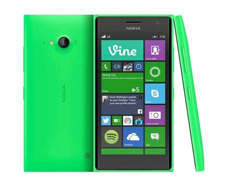 le bureau lumi鑽e du jour nokia lumia 735 4g vert a00021333 expansys