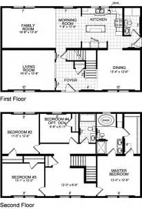 2 story home floor plans ontario model 618 two story modular home 39 s homes