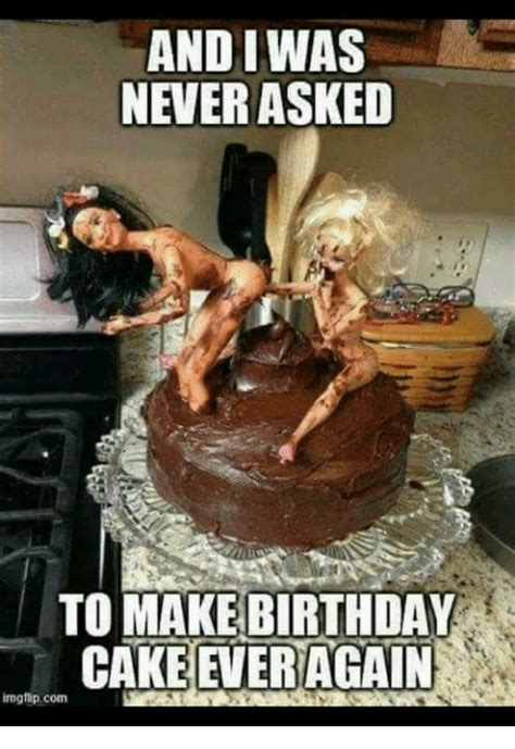 Birthday Cake Meme - and iwas never asked to make birthday cake ever again img flip com birthday meme on sizzle
