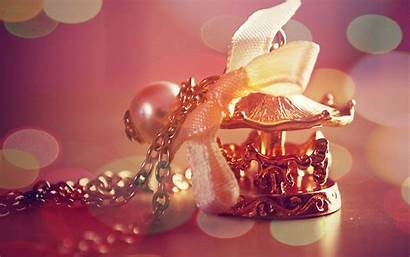 Jewelry Wallpapers Carousel Pendant Round Christmas Mood