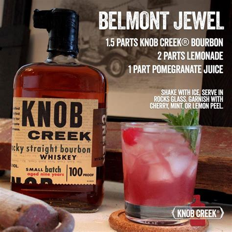 knob creek recipes belmont stakes belmont stakes recipe official