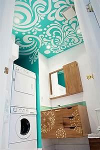 Waschmaschine Abdeckung Holz : 40 design ideen f r kleine badezimmer ~ Lizthompson.info Haus und Dekorationen