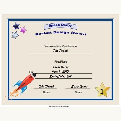 wood project cool guitar certificate templates