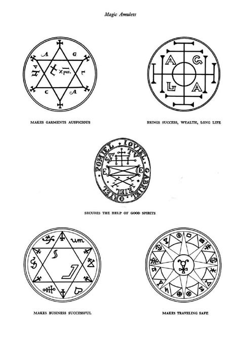 sigils of magical protection mainly kabbalistic in nature to on just in