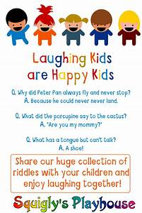 Funny Riddles For Kids At Squiglyu002639s Playhouse