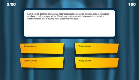 powerpoint trivia template rebocinfo