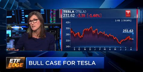 ark invest ceo cathie wood  pretty excited  tesla