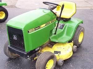 1988 John Deere 165 Lawn  U0026 Garden And Commercial Mowing