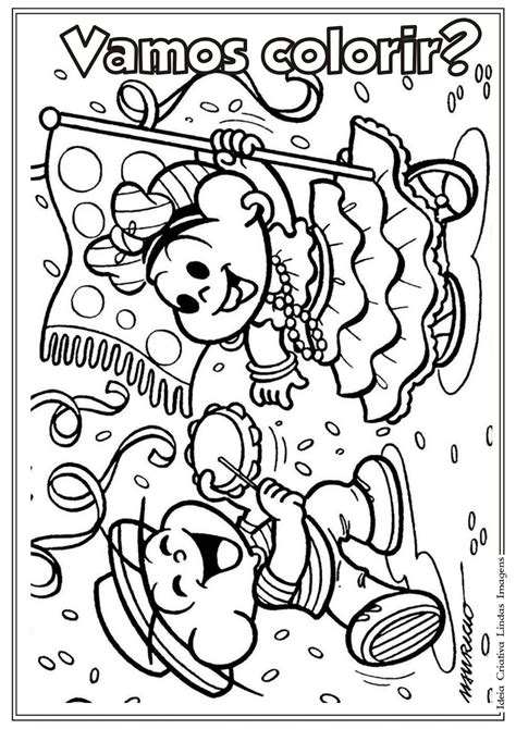 PZ C: desenho para colorir