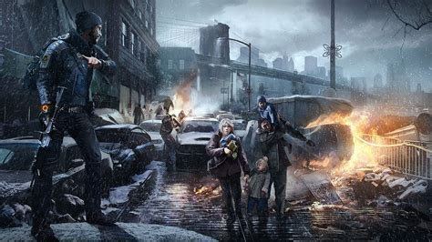 taxi siege auto tom clancy 39 s the division saving civilians wallpapers and
