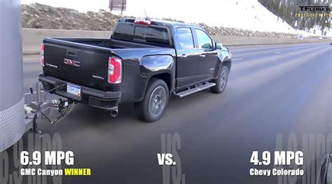 chevy colorado gmc canyon ike mpg  fast lane truck