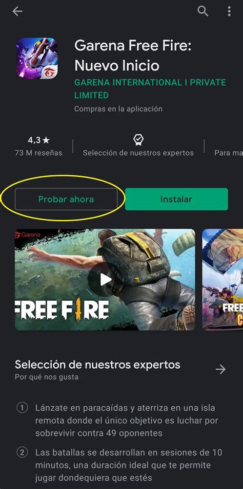 Free fire x monry heist. Free Fire: ¿cómo jugar el battle royale en Google?