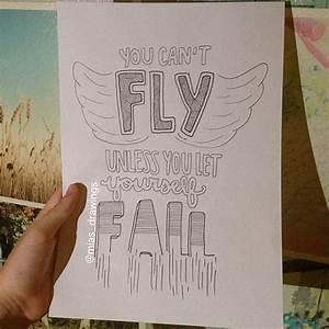 Items similar to Justin Bieber- Fall lyric art on Etsy