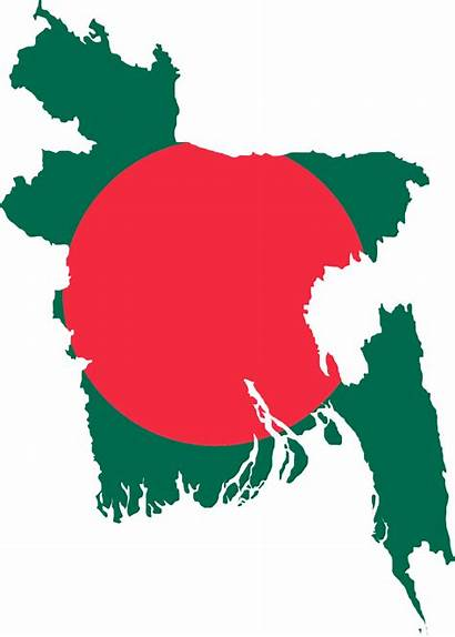 Bangladesh National Symbols Wikipedia Flag Map Svg