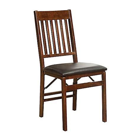 mission  wood folding chair  walnut bed bath